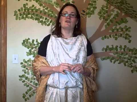 ACT Ottawa video topic:  Greek Costuming