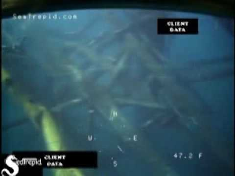 Diver Inspection of a Toppled Platform