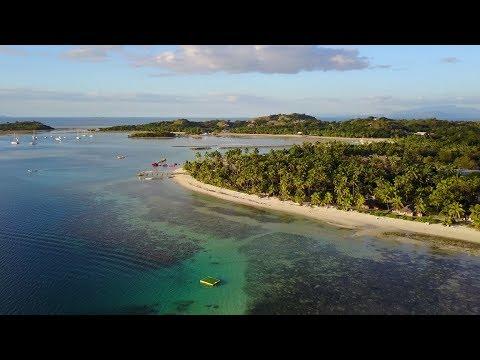 The Vans visit Plantation Island Resort, FIJI