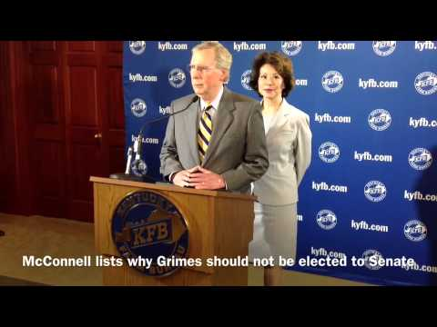 McConnell on why Grimes should not go to Senate