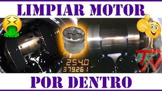 Limpiar MOTOR por DENTRO IMPECABLE mejora el sonido COCHE