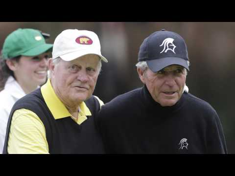 Gary Player and Jack Nicklaus