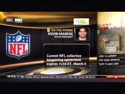 "NFLPA President, Kevin Mawae on ""Mike and Mike in the Morning"" (Part 2)"