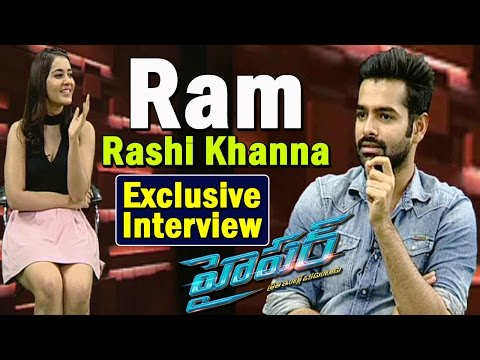 Exclusive Interview With Ram and  Rashi Khanna on Hyper Movie || Coffees and Movies