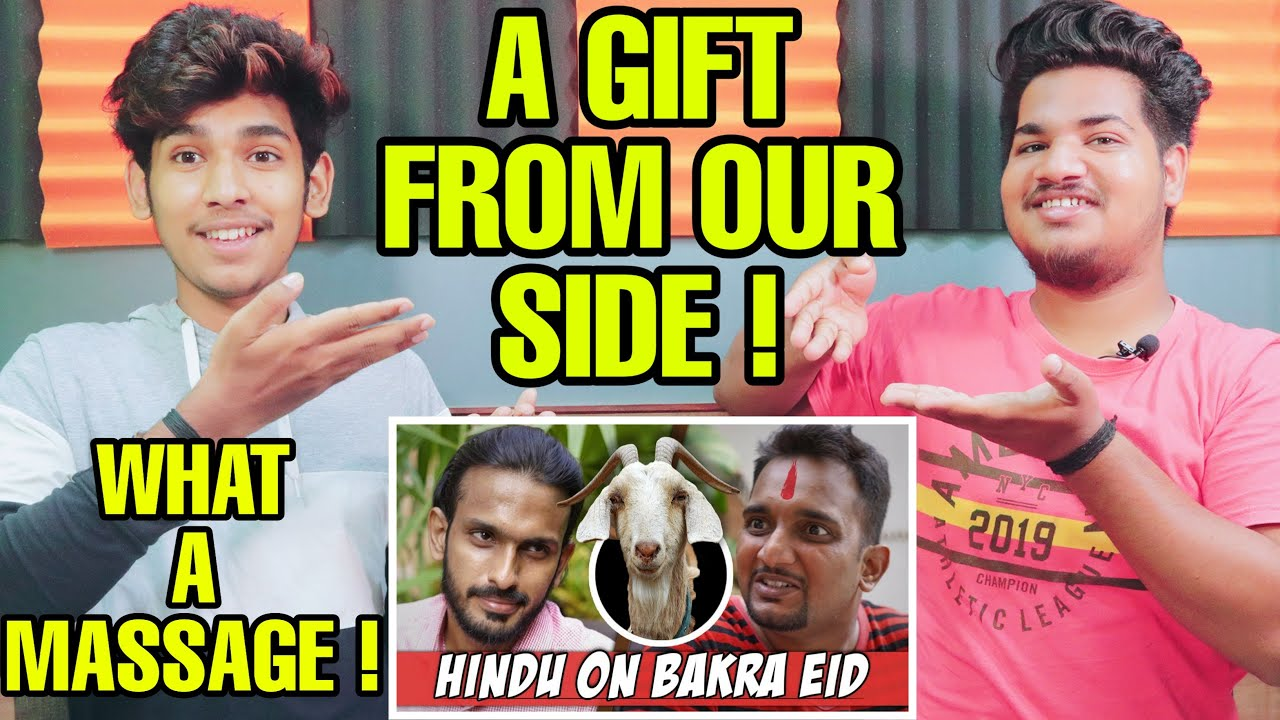 Indian Reaction On Hindu on Bakra Eid - Sajid Ali | Krishna Views