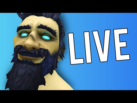 SHADOWLANDS IS HERE! LEVELING MY MAIN! - WoW: Shadowlands 9.0 (Livestream)