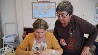 France Pays du Lunévillois Lunéville Conservatoire des broderies perlées