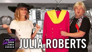 Julia Roberts Acts Out Her Film Career w/ James Corden thumbnail