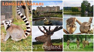 My Journey - England, UK EP. 7 - Longleat Safari