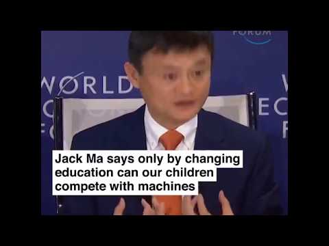 "Children should be taught ""Soft Skills"" - Future of Education explained by Jack Ma"