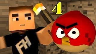 ANGRY MINECRAFT Part 4 (Angry Birds)