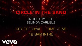 Belinda Carlisle - Circle In The Sand (Karaoke)