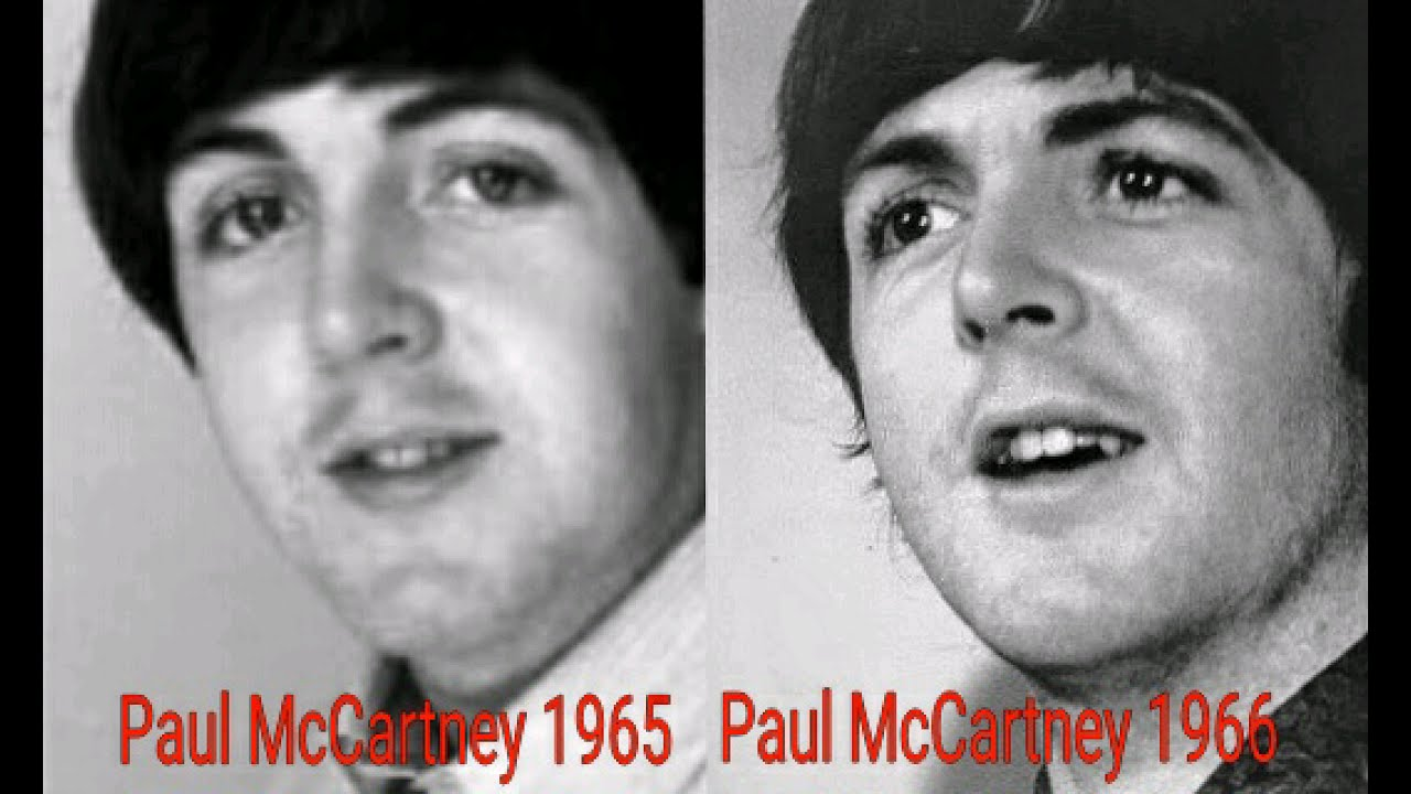 Paul McCartney Photo Comparison 1965