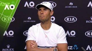 Rafael Nadal press conference (1R) | Australian Open 2017