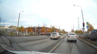 Неудачно развернулся на Архангельском шоссе. Северодвинск
