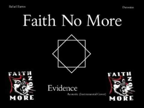 Faith No More - Evidence( Acoustic)( Karaoke  By Kir Nightly)