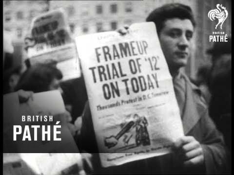 Communist Leaders Go On Trial (1949)