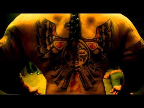 Chayton Blood in Banshee Character Mashup Cinemax