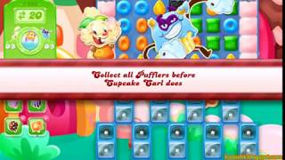 Candy Crush Jelly Saga Level 1283 (3 stars, No boosters)