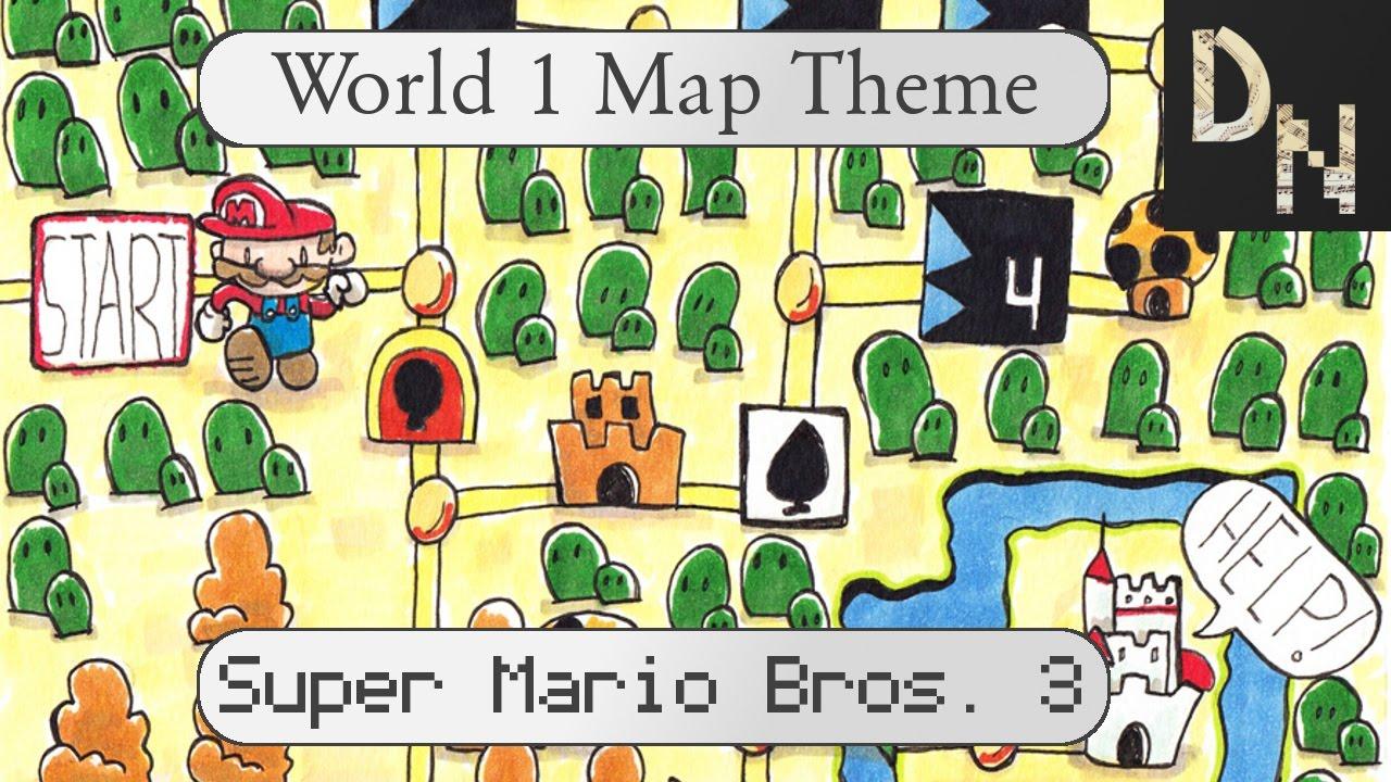 super mario bros 3 1 1 map