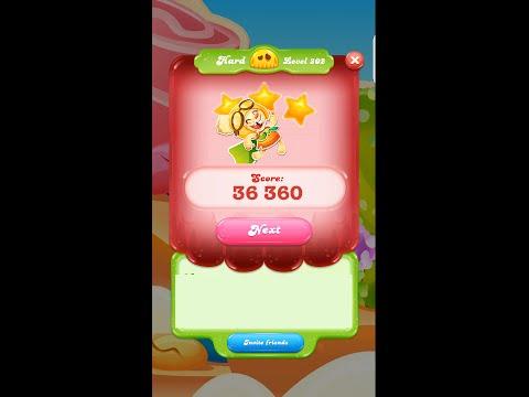 Candy Crush Jelly Saga Level 202