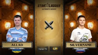 Allad vs SilverName, StarLadder Hearthstone Ultimate Series
