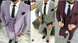 New design coat pant for man 2019//New style three piece suits for wedding