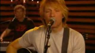 Bon Jovi - Misunderstood Acoustic