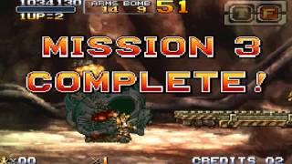 NDS metal slug 7 HARD no death ALL clear (ERI)