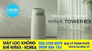 Máy lọc không khí nào tốt - Winix Tower QS  Made in Korea