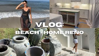VLOG: ROSEMARY BEACH TRIP, HOME RENO, NEW FAVORITE CLEANING ACCOUNT