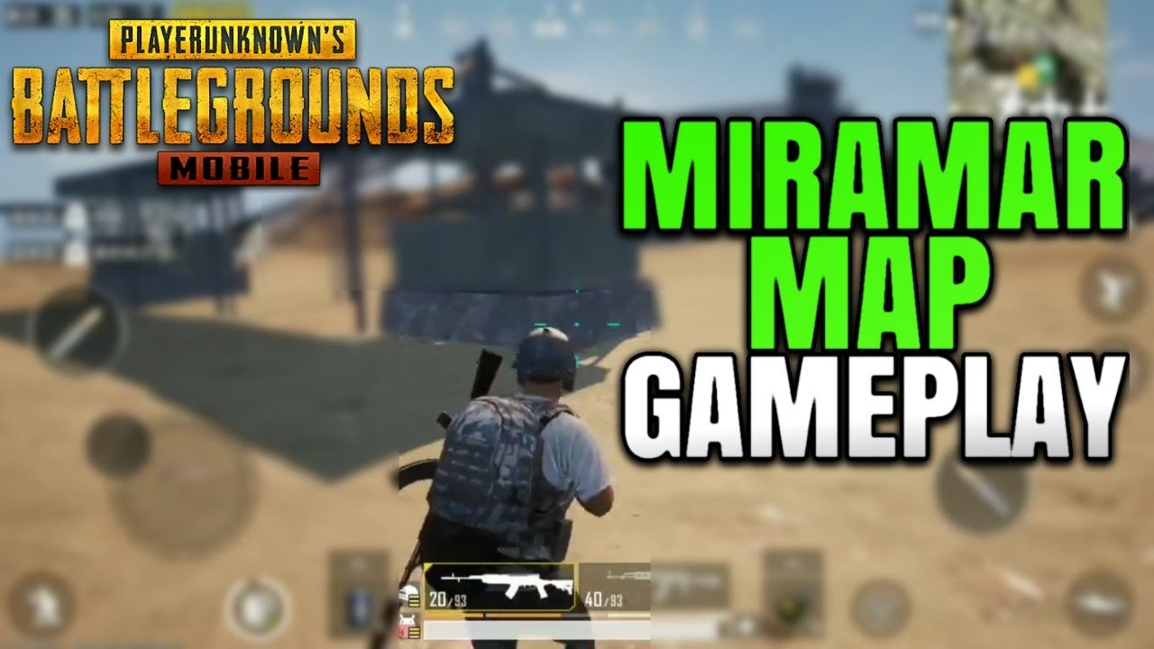 How To Enable Hd Graphics On Pubg Mobile Global Version: My First Gameplay On The NEW MIRAMAR MAP! (Desert Map