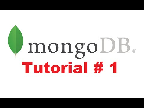 MongoDB Tutorial for Beginners 1 - Introduction to MongoDB + Installing MongoDB