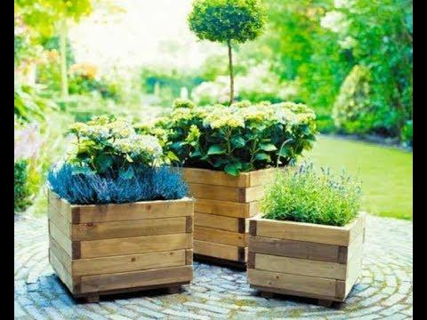 Tuto jardini re en palette gratuit youtube - Jardiniere en palette ...