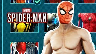 Spider-Man Ps4 - The 100% Completion Suit Costume!