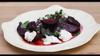 Simple Roast Beetroot Salad