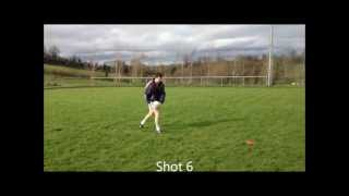 Ritual vs non ritual free taking in gaelic football