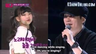 Kpop Star 4, Na Ha Eun Touch My Body(Eng Sub)