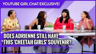 WEB EXCLUSIVE: Does Adrienne Still Have This 'Cheetah Girls' Souvenir?