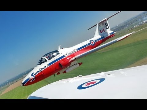 Inside Track TV: Snowbirds Flight - Lethbridge Int'l Air Show - July 2013