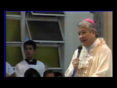 Canonical Installation of Bishop Patricio Buzon, Message of Socrates Buenaventura Villegas