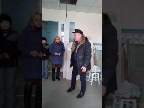 Новогродовка, больница , ремонт в приёмном покое , 8.02.2019