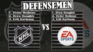 EA NHL 19 vs The ACTUAL NHL