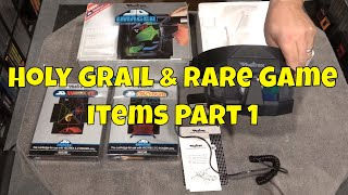My Holy Grail & Rare Game Items Part 1