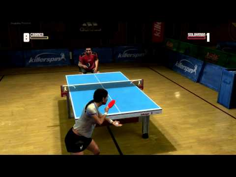 Rockstar Games Presents.. Table Tennis (Xbox360) gameplay
