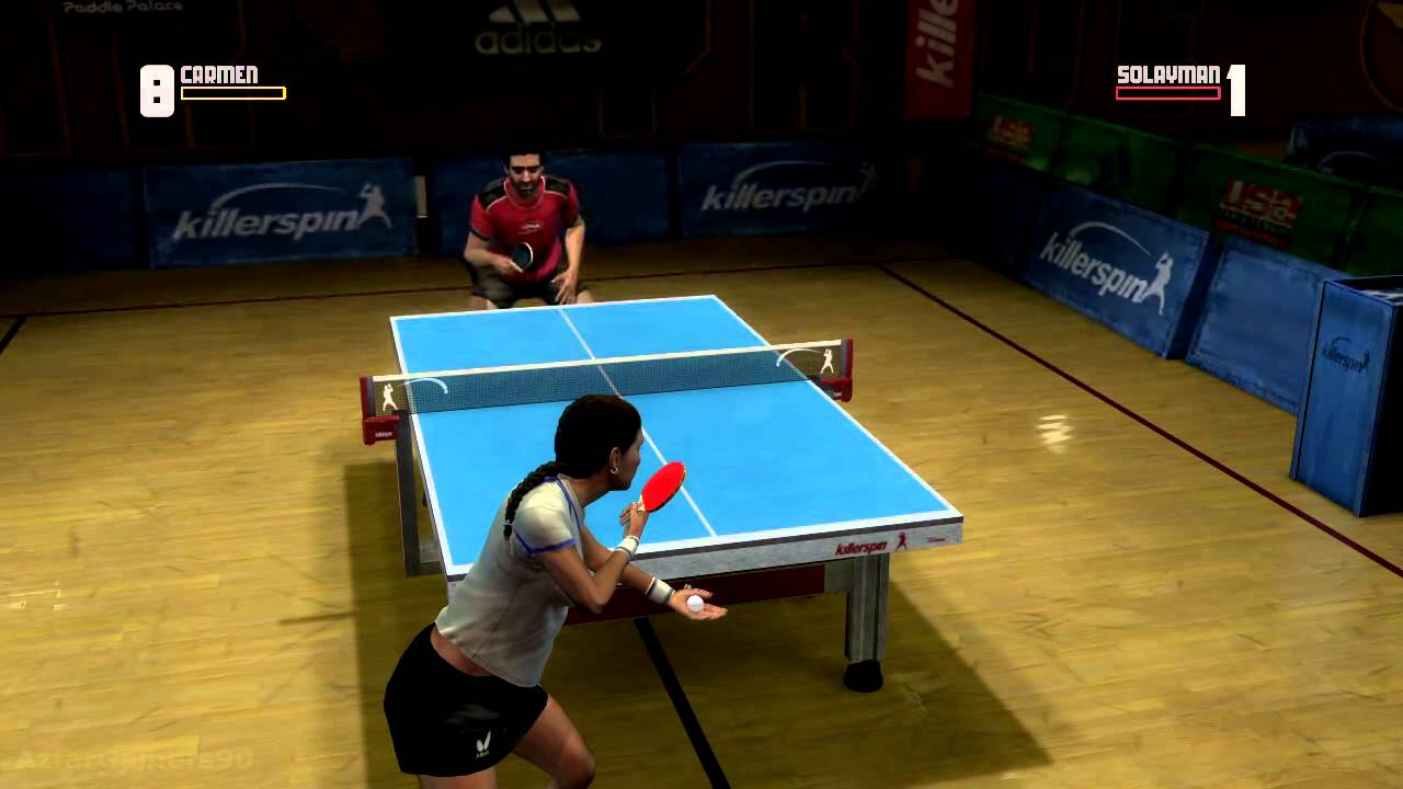 Rockstar Games Presents Table Tennis Xbox360 Gameplay Youtube