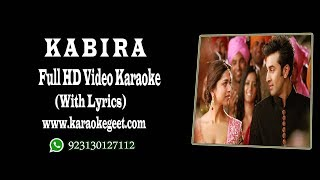 Kabira video karaoke with lyrics
