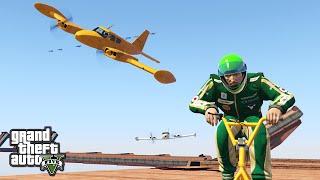 BMX vs PLANES - GTA 5 Funny Moments