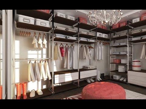 гардеробная комната трапеция