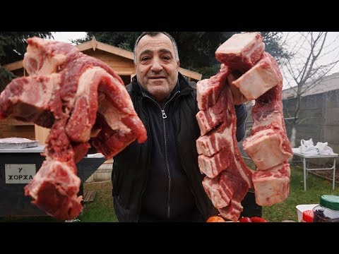 Мясо, приготовленное в казане на костре, тает во рту! Рецепт от Жоржа